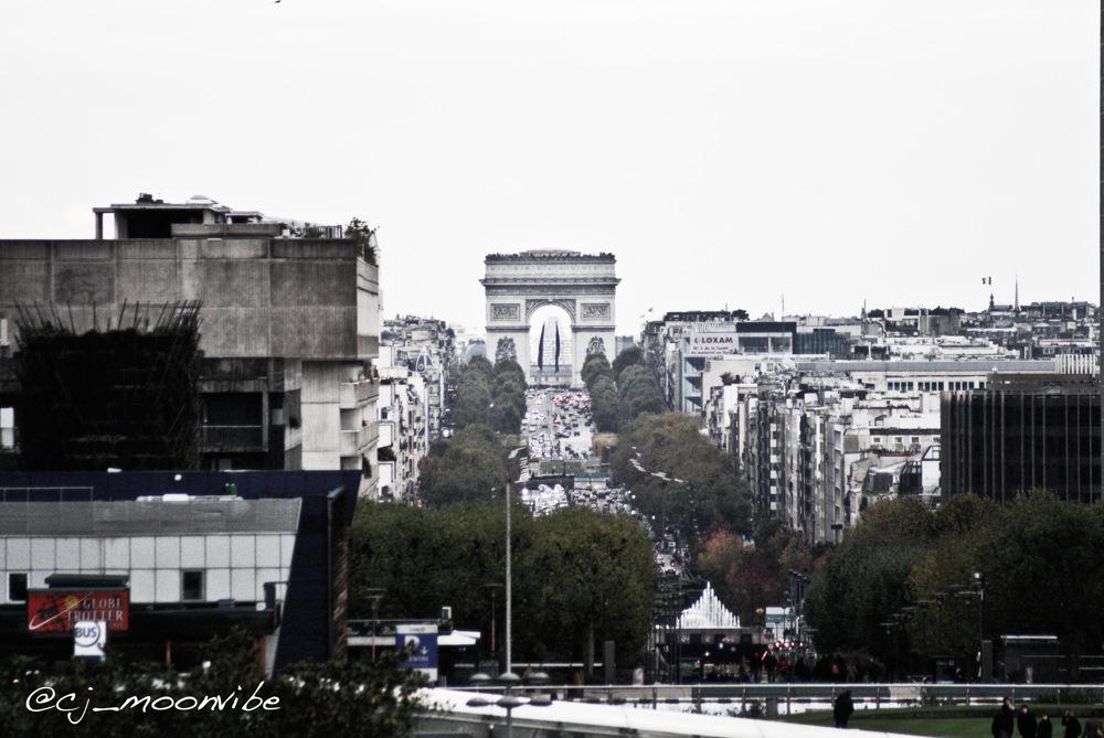 photoblog image Arc de Triomphe