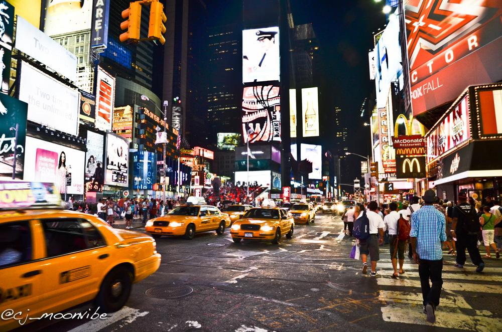 photoblog image Time Square