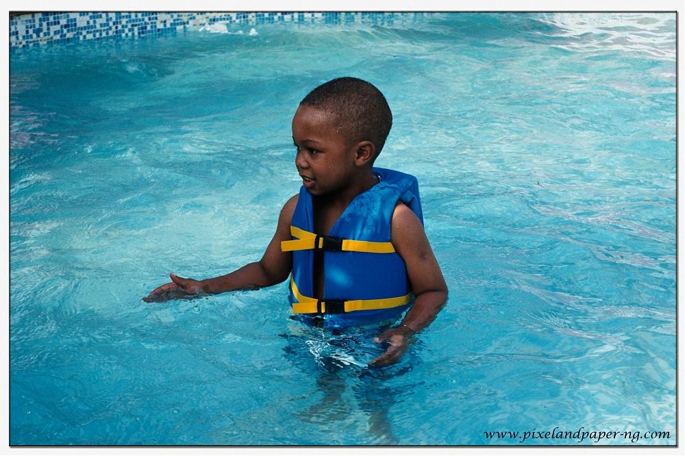 photoblog image Swimming