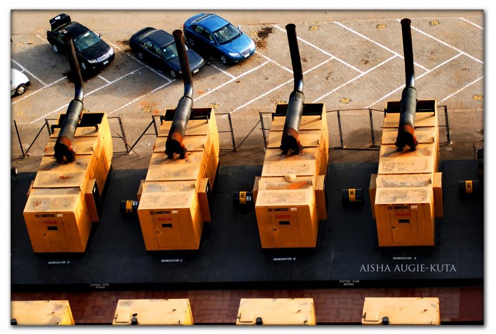 photoblog image Power generation