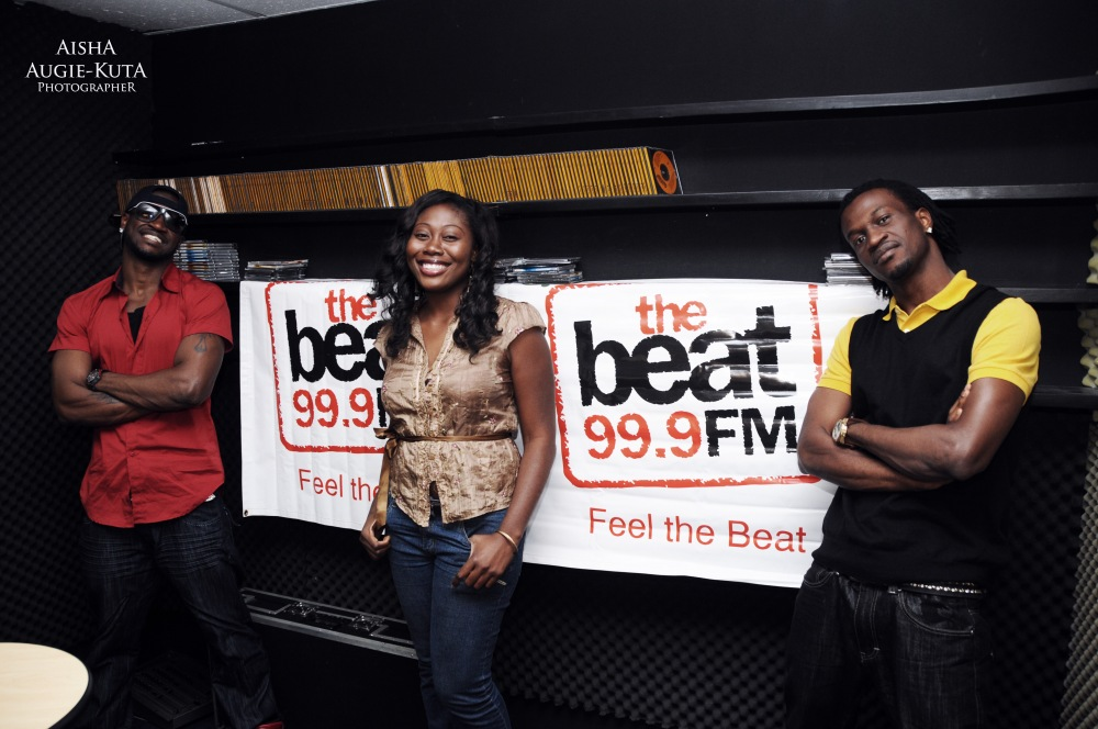 photoblog image Psquare at the Beat