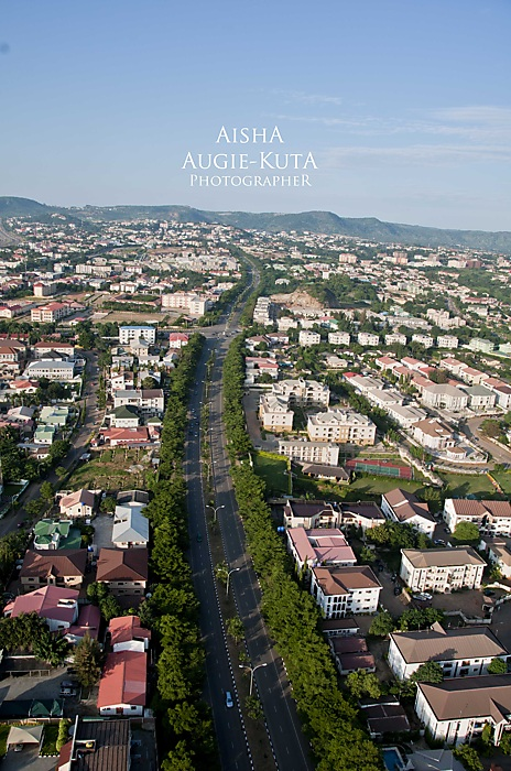 photoblog image Abuja, Nigeria from above