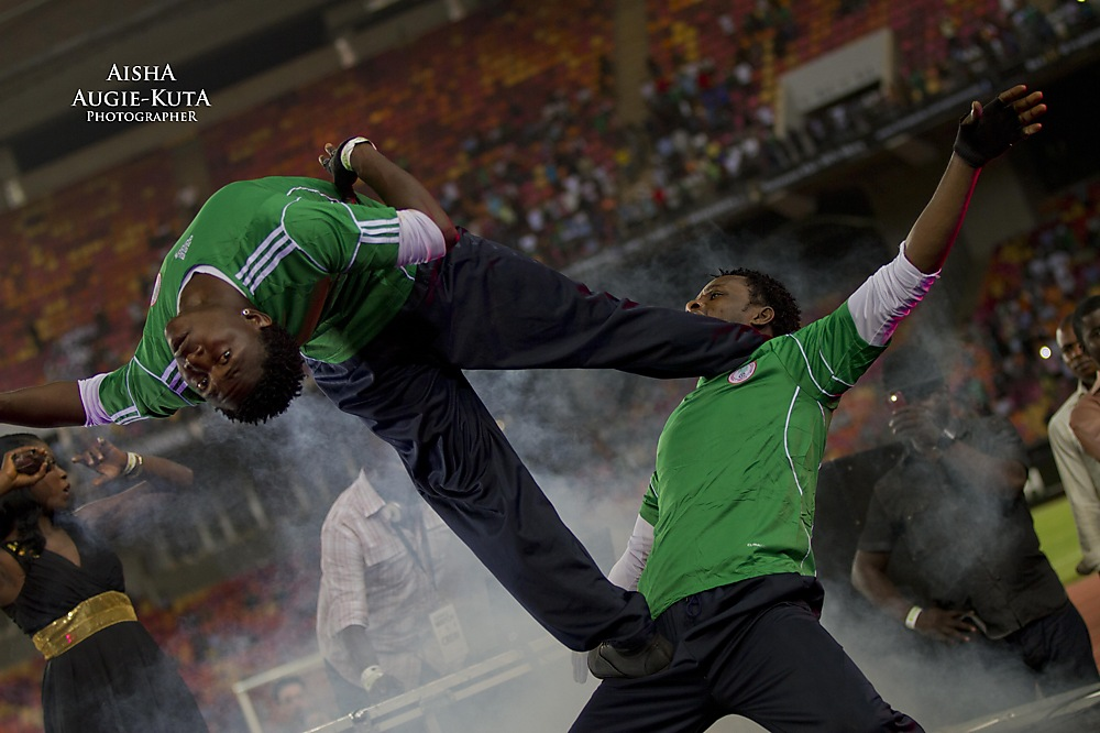 photoblog image Half time - Nigeria/Argentina