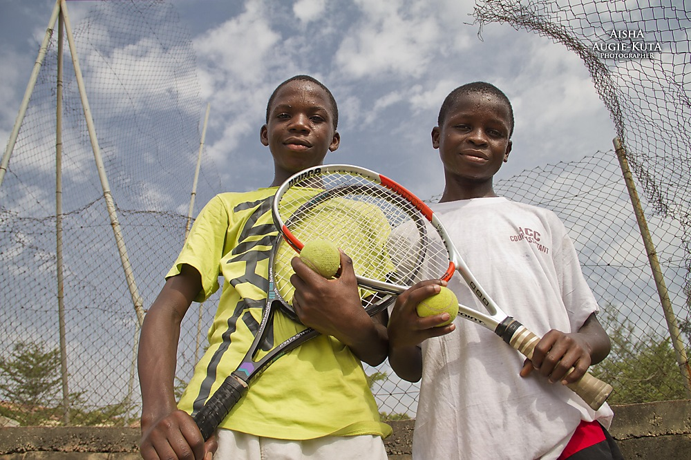 photoblog image The Tennis Kids of Lifecamp
