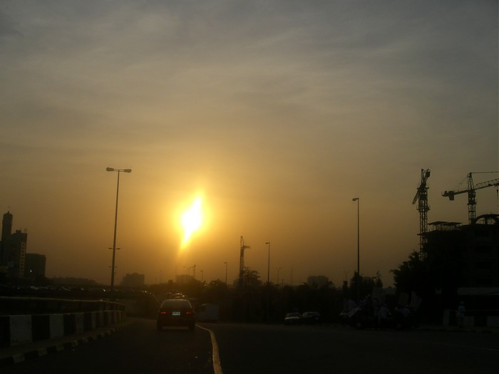 photoblog image Sunset in Abuja