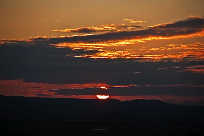 photoblog image La enésima puesta de sol