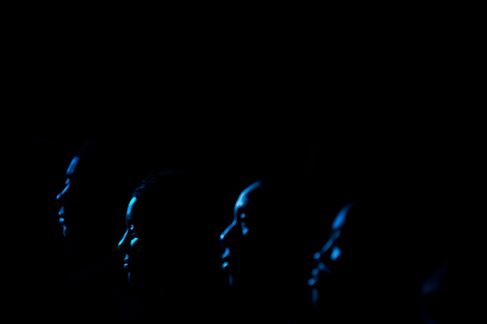 photoblog image Movie silhouette #2