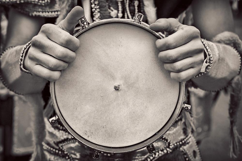 photoblog image Carnival drummer