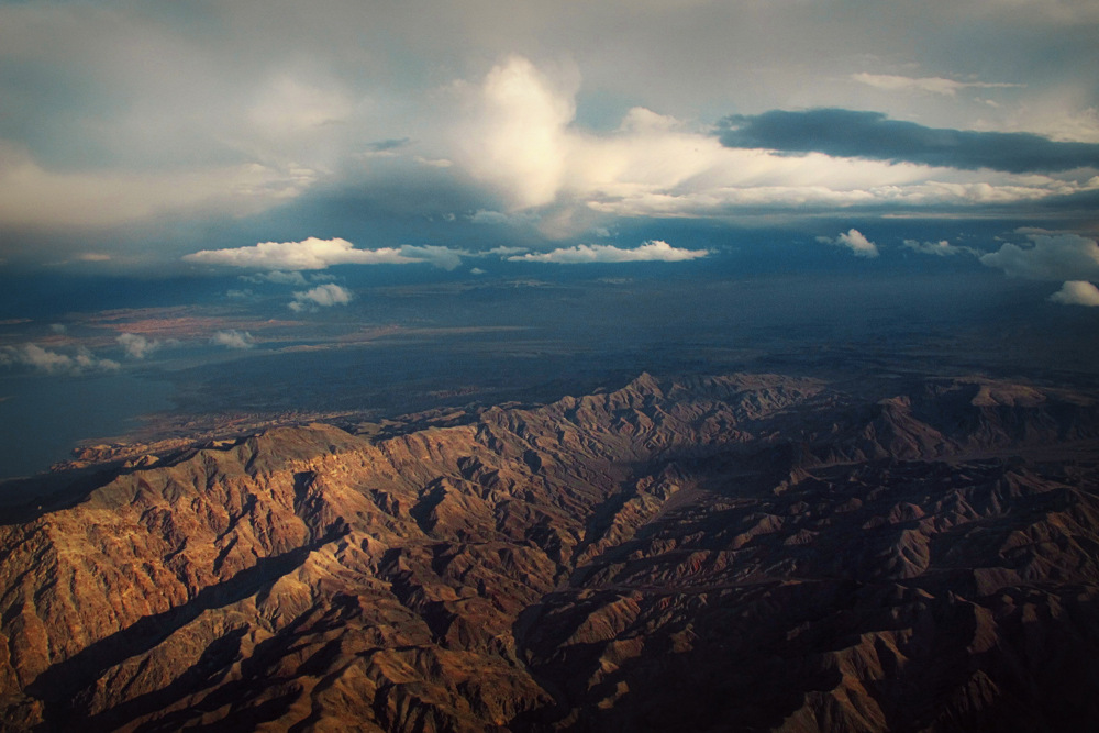 photoblog image On approach to Las Vegas