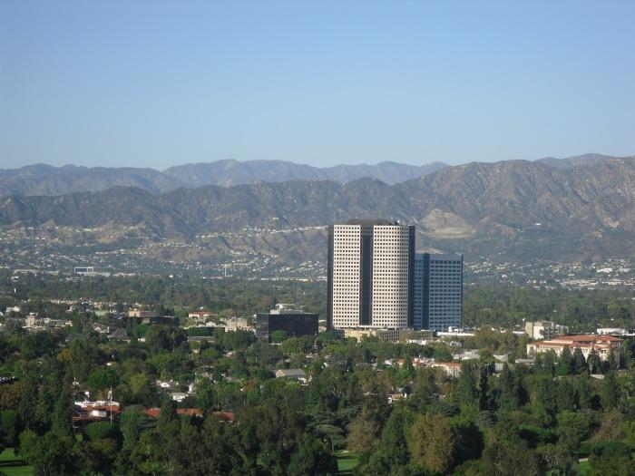 photoblog image View from Universal Studios