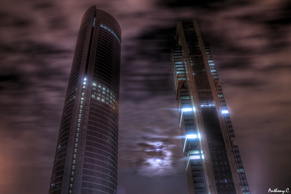 photoblog image Purple in the night