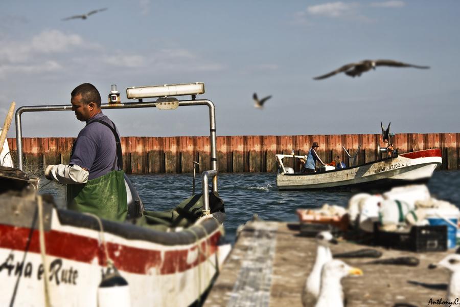 photoblog image Fishermen