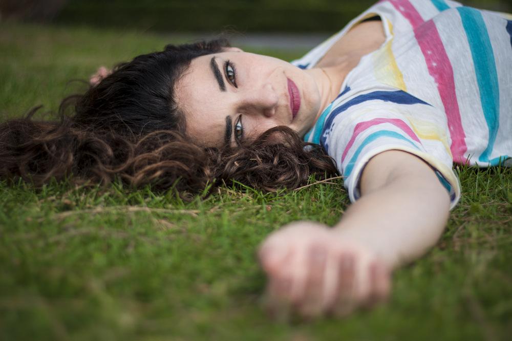 photoblog image Grass girl