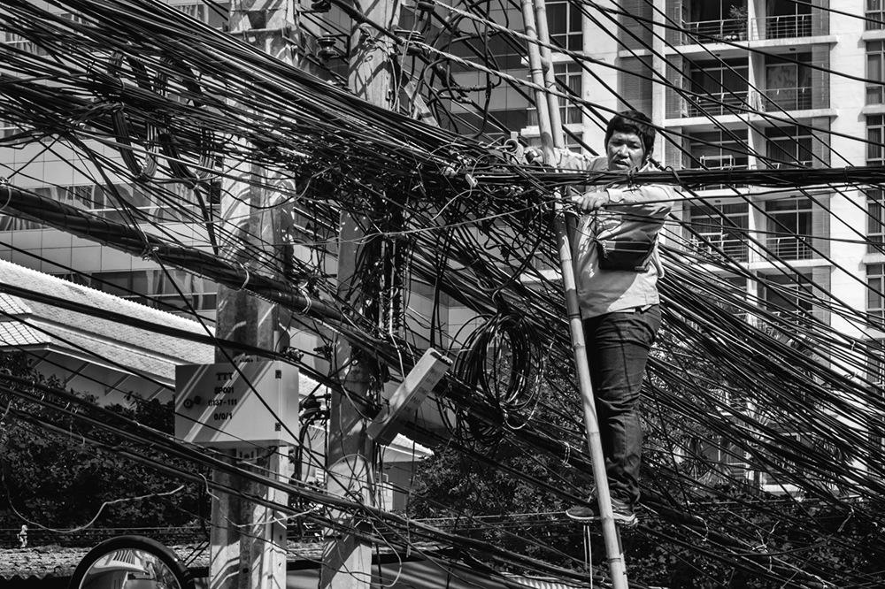 photoblog image Cables BKK