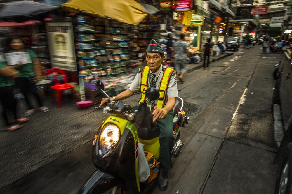 photoblog image Biker BKK
