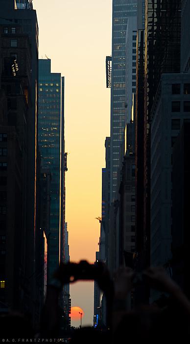 photoblog image Manhattanhenge I