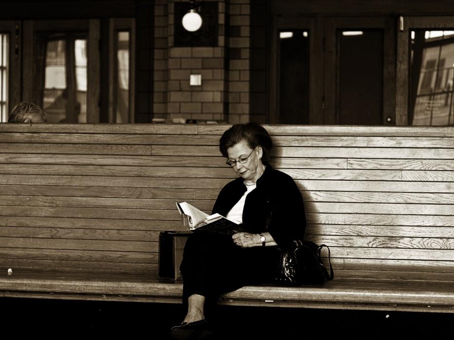 photoblog image Train Stop #2: Quiet Elegance