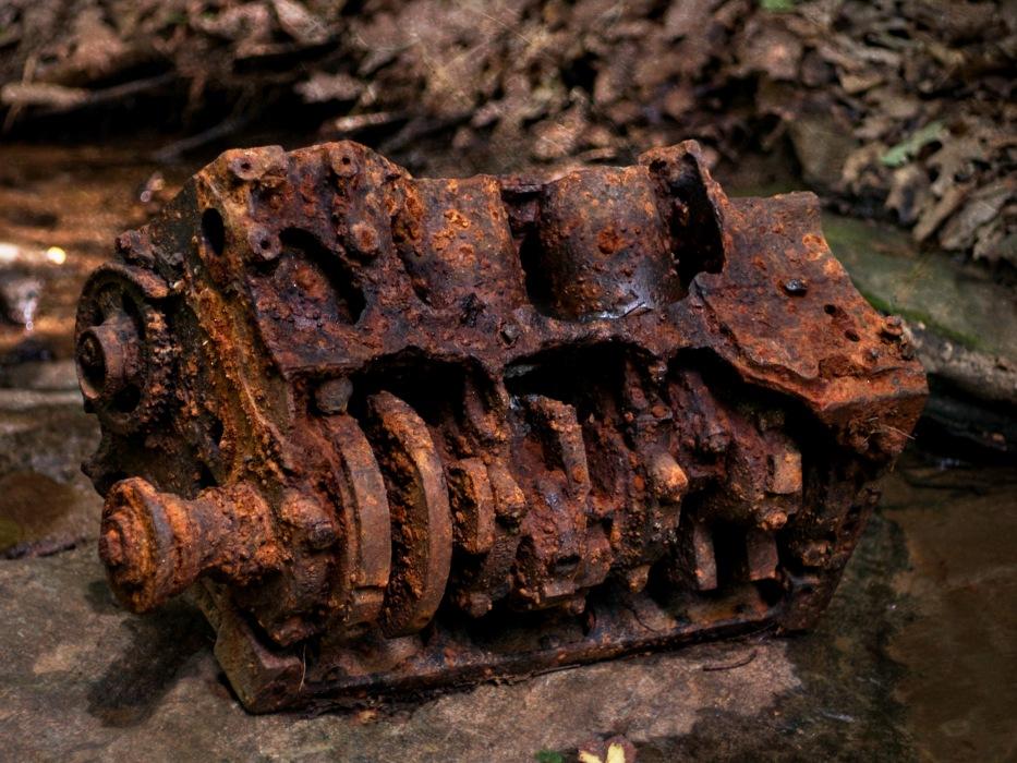 photoblog image Rusty Debut