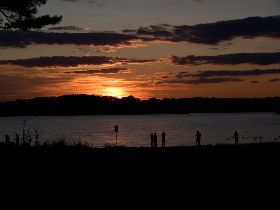 photoblog image Loch Raven Reservoir Sunset #1