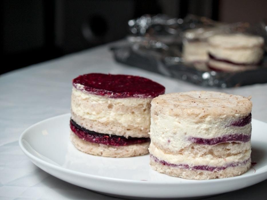 photoblog image It takes 2 - Raspberry Blackberry Vanilla Bavarian Cake