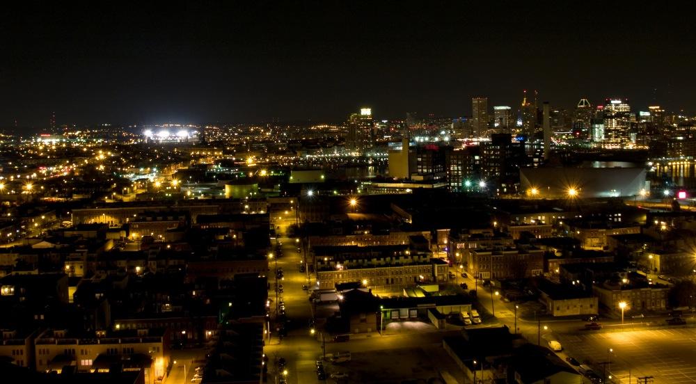 photoblog image Baltimore harbor skyline #3