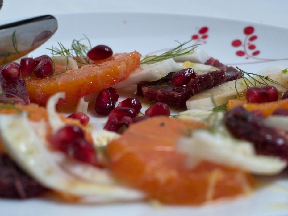photoblog image Orange and fennel salad