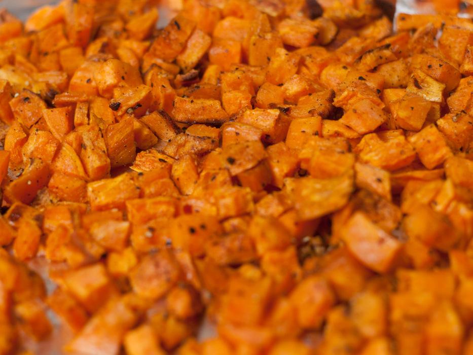 photoblog image Roasted Butternut squash sweet potato tart I