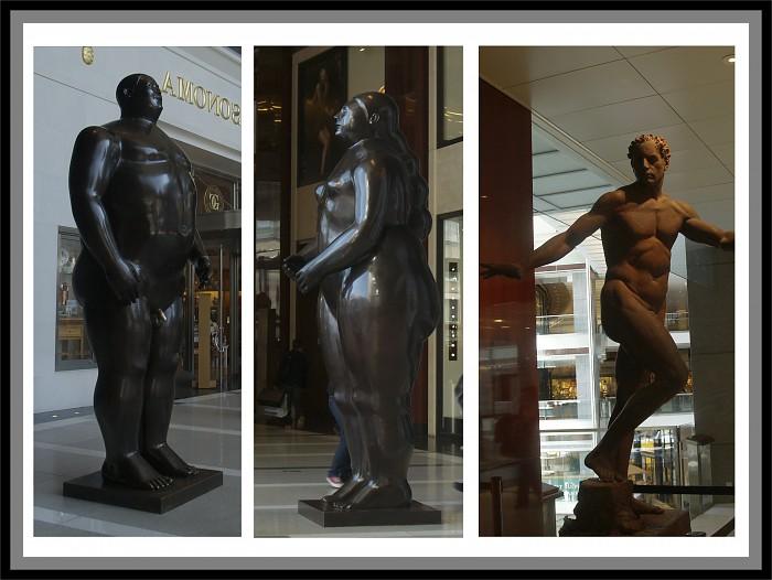 photoblog image Statues
