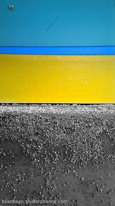 photoblog image Unleveled Layers