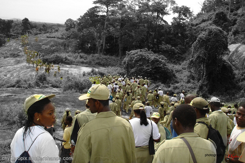 photoblog image Endurance Trek... The Clarion Call (NYSC)