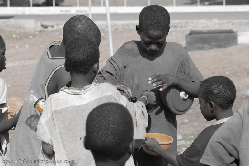photoblog image Help the Street kids