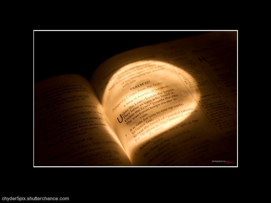 photoblog image Psalm 127