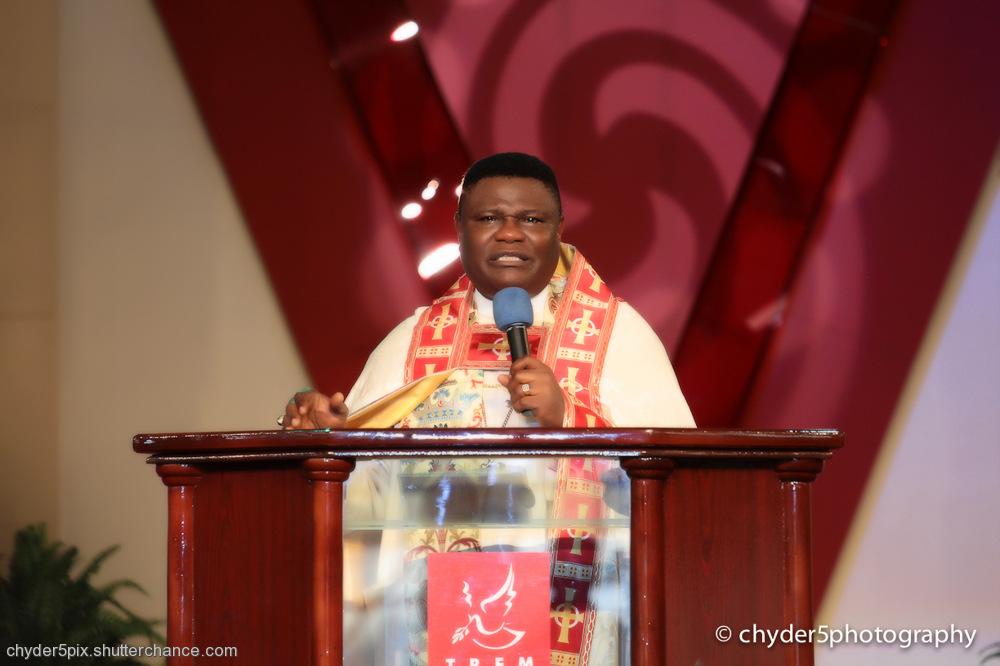 photoblog image Big Daddy, Bishop Mike Okonkwo @ 66