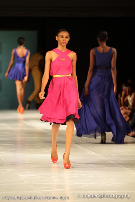 photoblog image MTN Lagos Fashion & Design week 2011: GREY