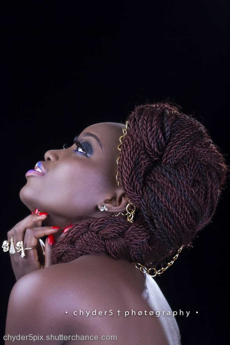 photoblog image Fashion Beauty Shoot with Ara Makeover by Laide