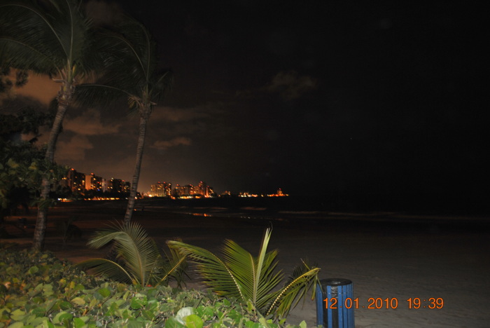 photoblog image A Night View from The Beach