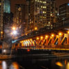 Michigan Ave Bridge Lights