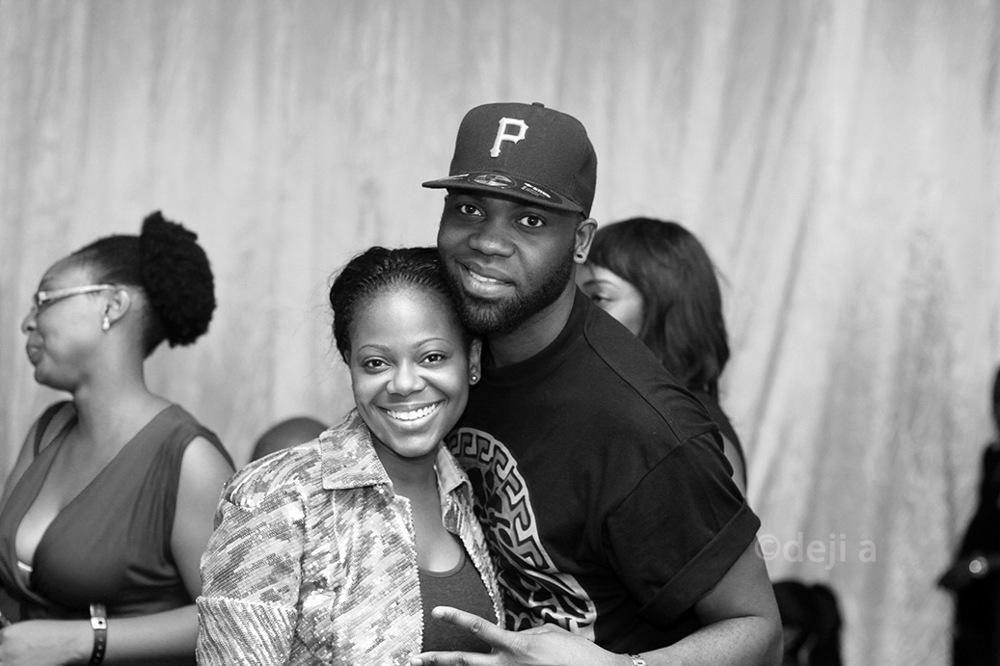 photoblog image Designer- Tsemaya Binitie and his beautiful Sister