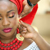 BRIDE GETS READY FOR HER TRADITIONAL WEDDING