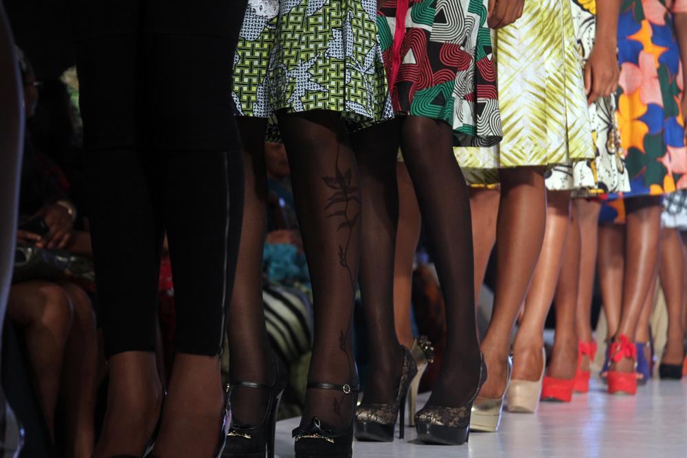 photoblog image Legs & Fabric