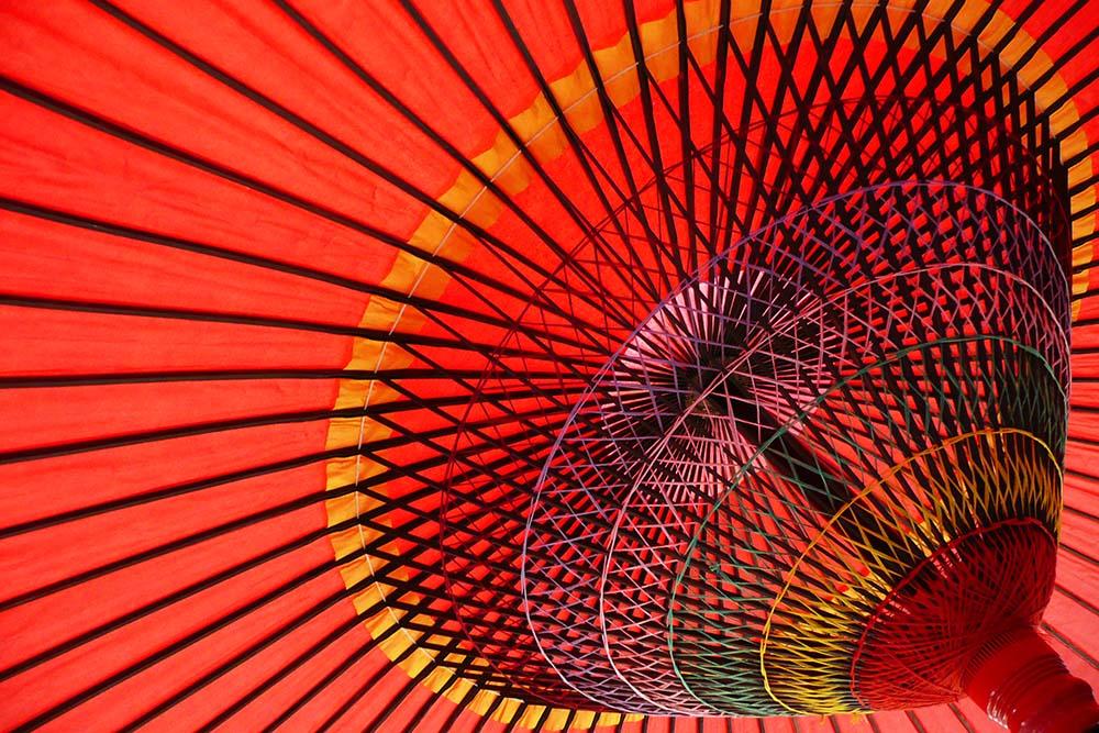 photoblog image Japanese umbrella