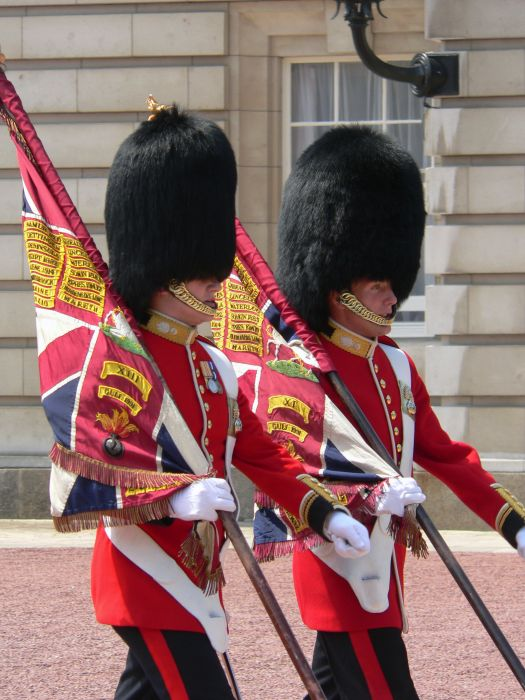 photoblog image Trooping the colours