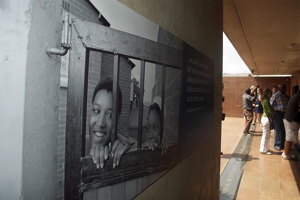 photoblog image Mandela House