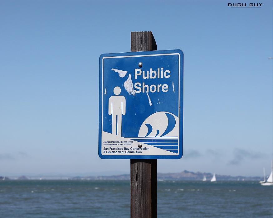 photoblog image Public Shore