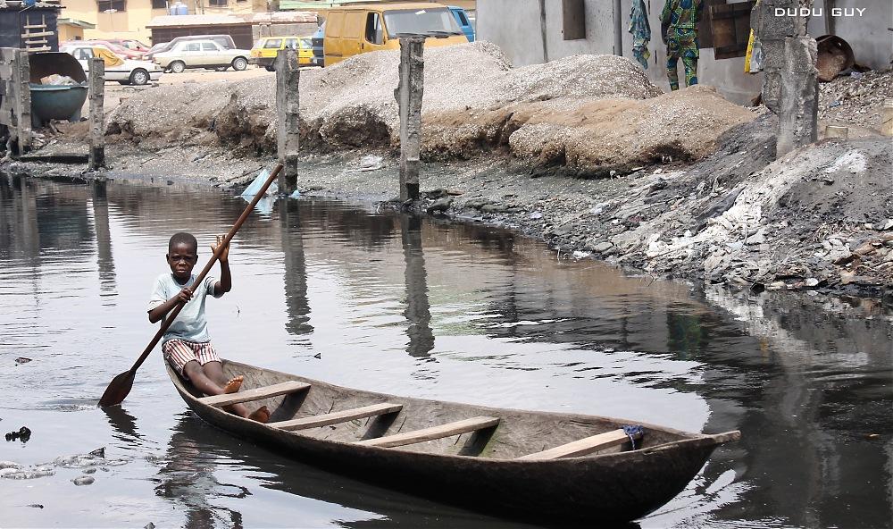 photoblog image Makoko Kids