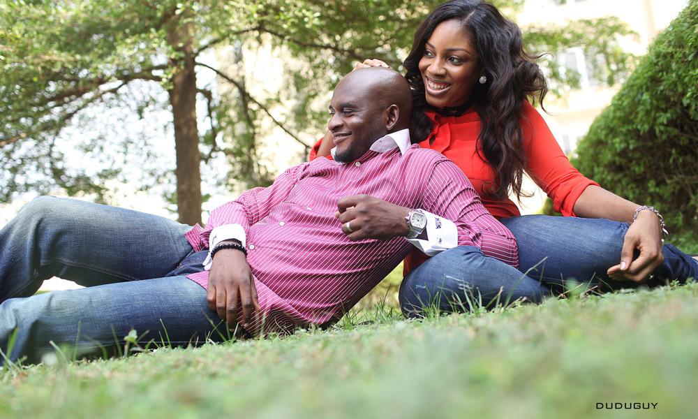 photoblog image Jennifer & Yemi