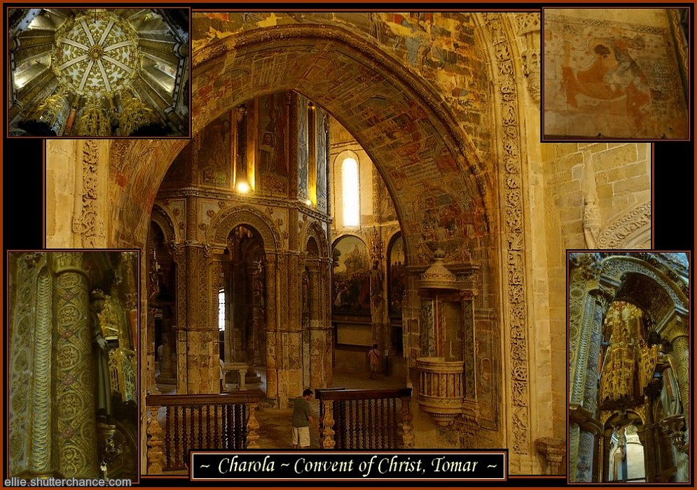 photoblog image Convent of Christ and Templar stronghold, Tomar