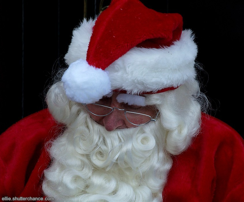 photoblog image Santa's snooze