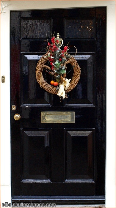 photoblog image Crooked Christmas welcome