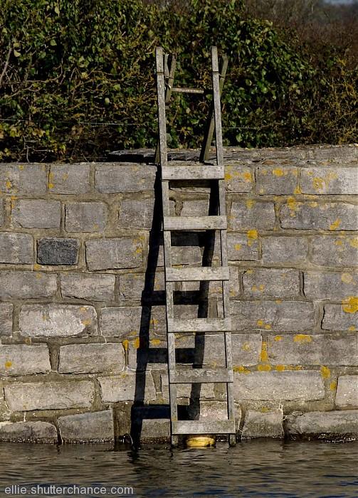 photoblog image Ladder to nowhere?